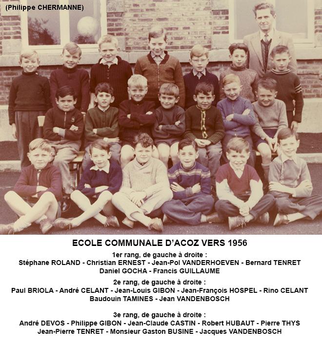 CLASSE GASTON BUSINE VERS 1956