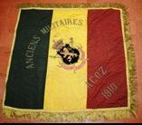 LE DRAPEAU DES ANCIENS MILITAIRES 1910