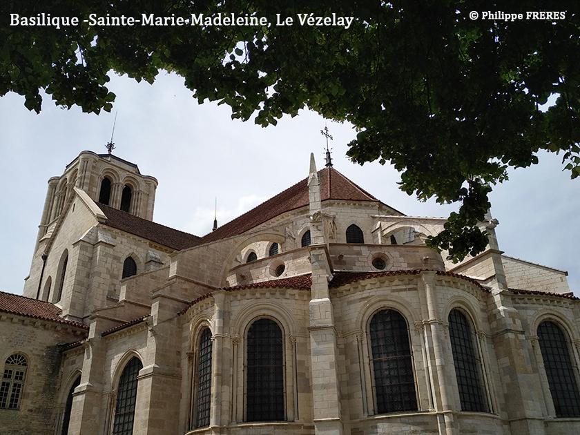 Basilique Sainte-Marie-Madeleine, Le Vézelay 840