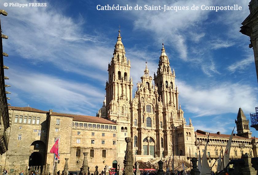 Cathédrale, Saint-Jacques-de-Compostelle 2 840