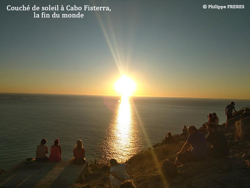 Couché de soleil à Cabo Fisterra, la fin du monde 840