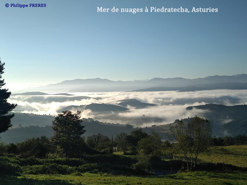 Mer de nuages à Piedratecha, Asturies 840