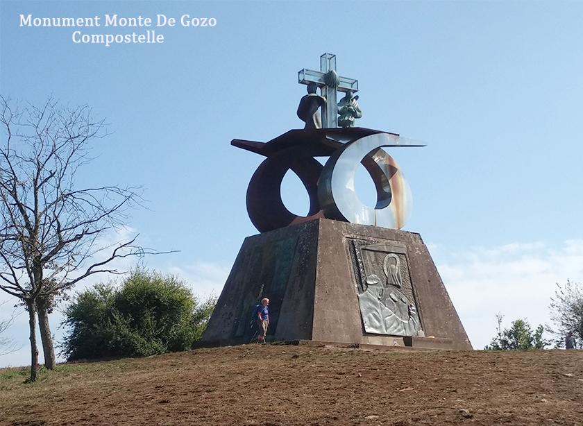Monument Monte De Gozo, Compostelle 840