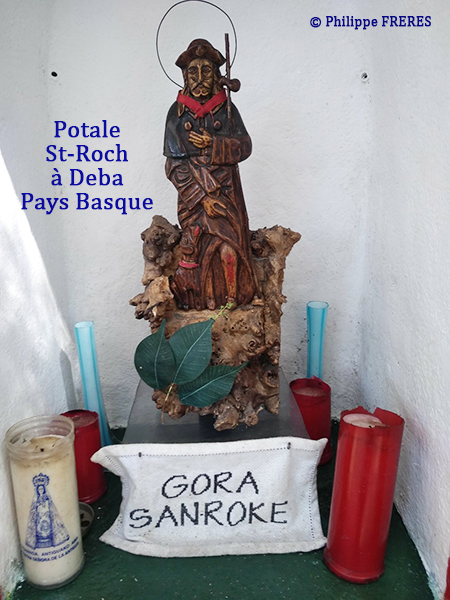 Potale de Saint-Roch, Deba au Pays Basque 450