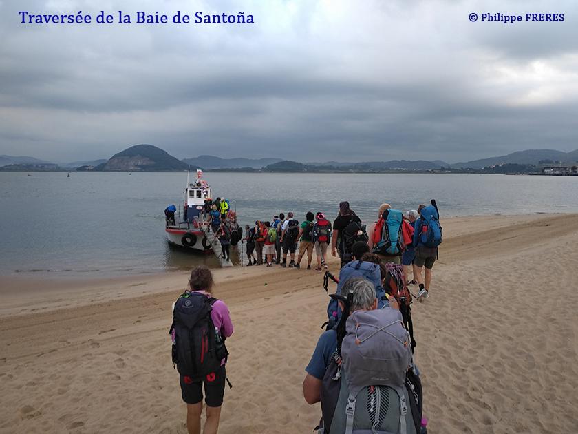 Traversée de la baie de Santoña 840