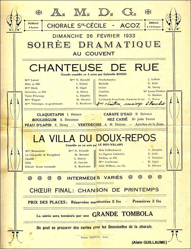 CHANTEUSE DE RUE web