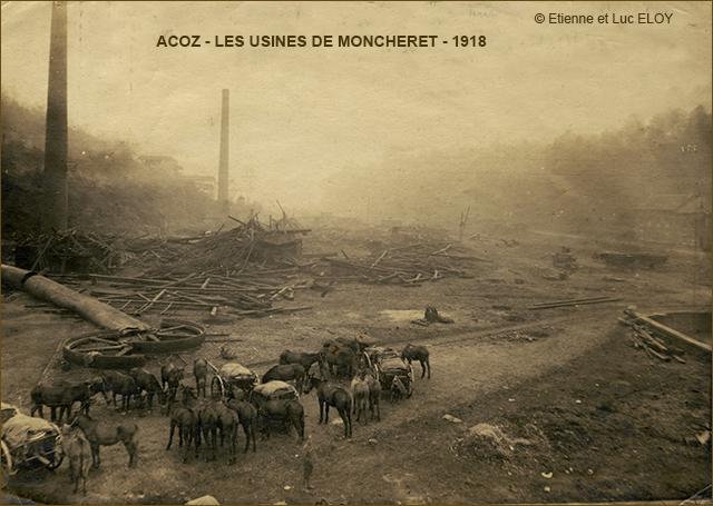 USINES MONCHERET ACOZ - NOV 1918 640