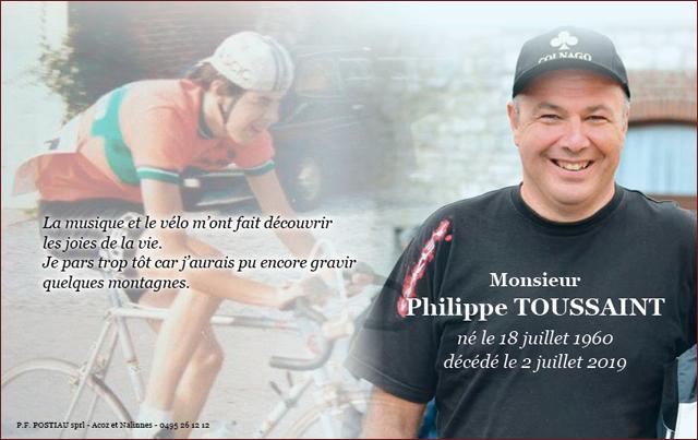 Deces Toussaint Philippe - Alain