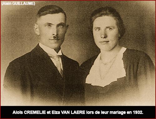 ALOIS ET ELZA 1932 MARIAGE web
