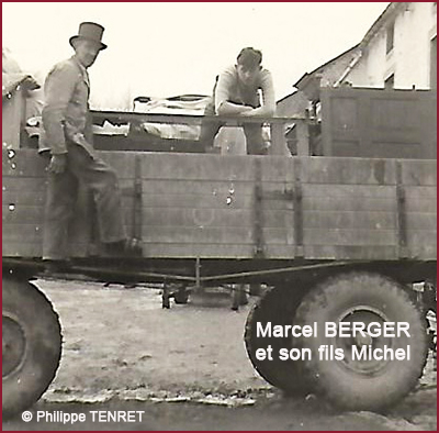 Marcel et Michel BERGER 400