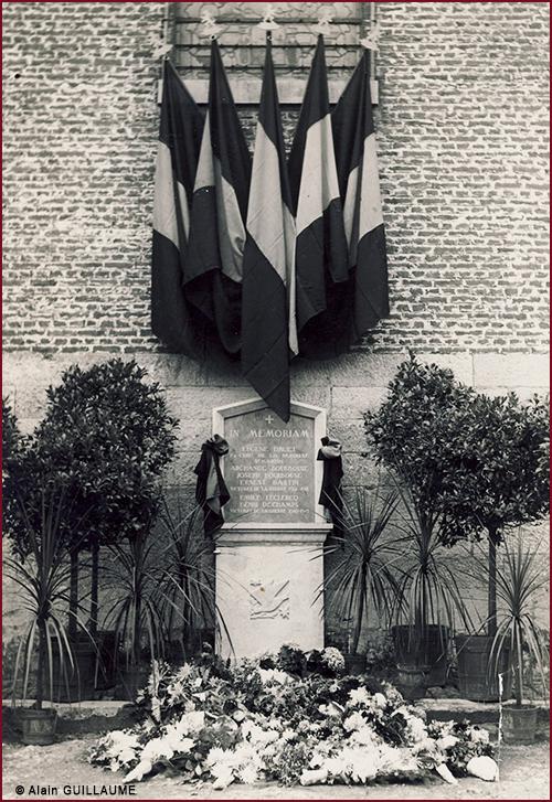 Inauguration monument église 500
