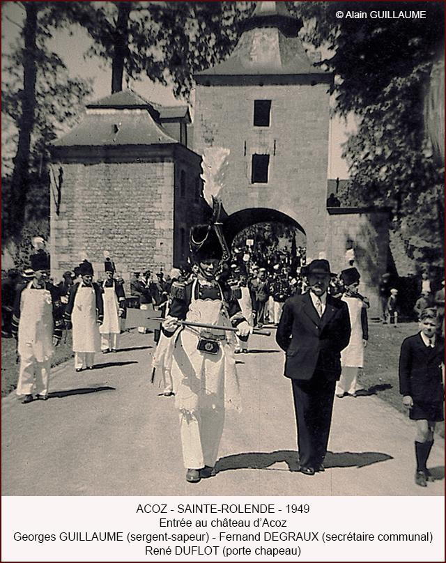 Pentecôte 1949 château 640