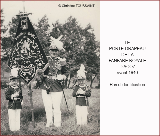 PORTE DRAPEAU FANFARE 640