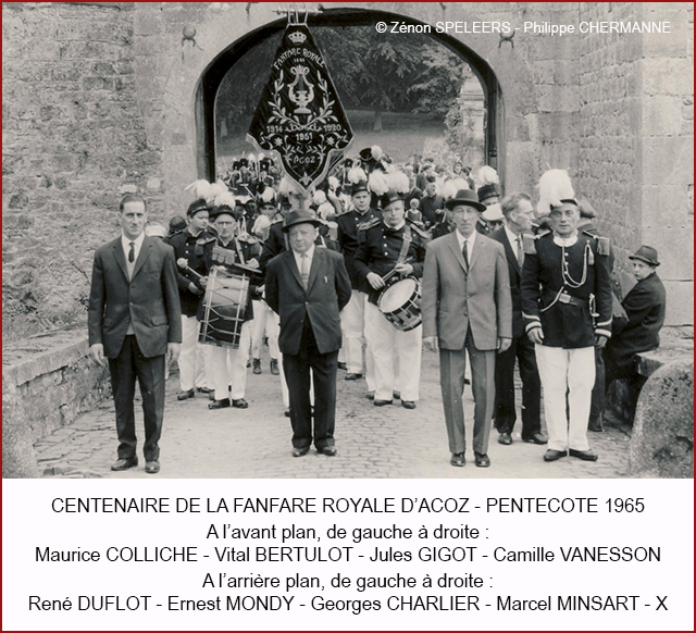 CENTENAIRE FANFARE 1965 P CHER 640