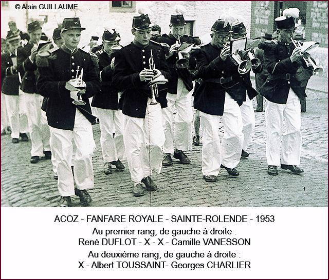 Fanfare Pentecôte 1953