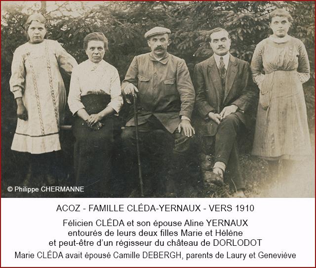 FELICIEN CLEDA FAMILLE 640