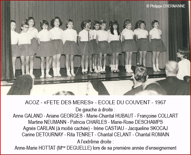 FETE ECOLE COUVENT 1967 640