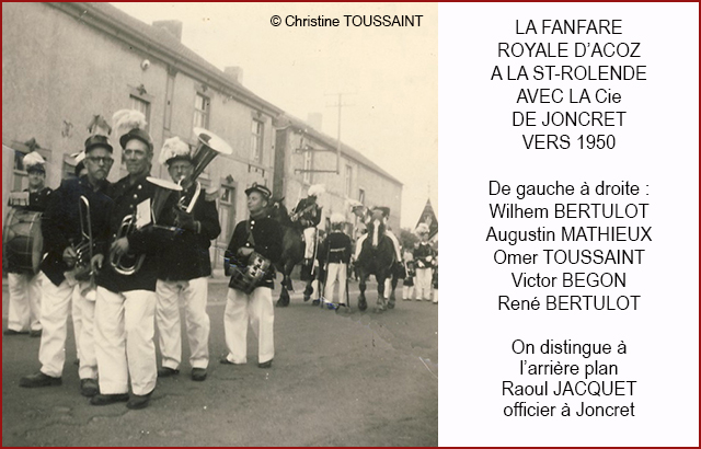 MUSICIENS AVEc JONCRET VERS 1950 640