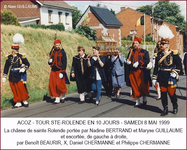 TOUR 10 JOURS 8.5.1999