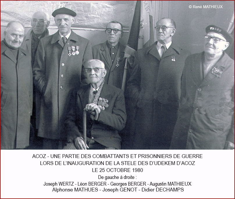 9 Anciens combattants d'Acoz 25.10.1980 640