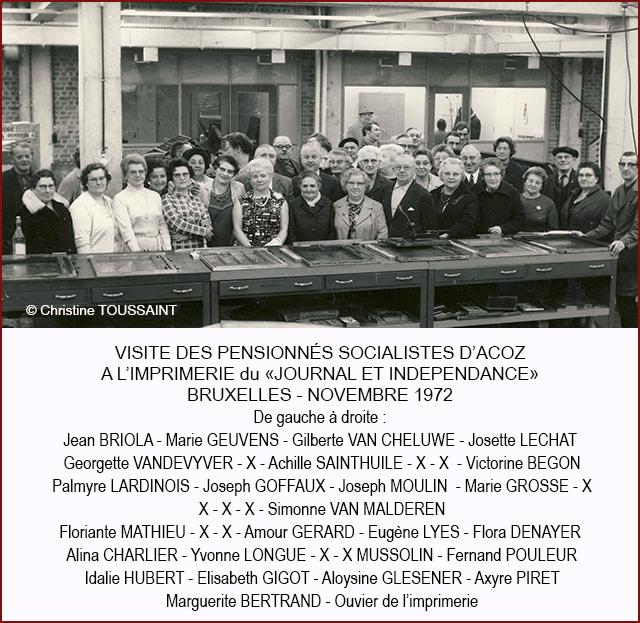 PENSIONNES SOCIALISTES JOURNAL 640