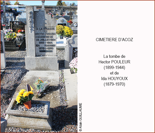 TOMBE HECTOR POULEUR 640