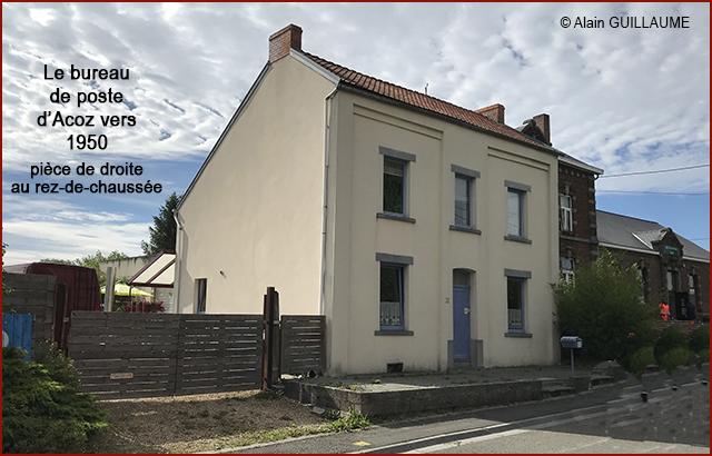 bureau poste DEBERGH 640