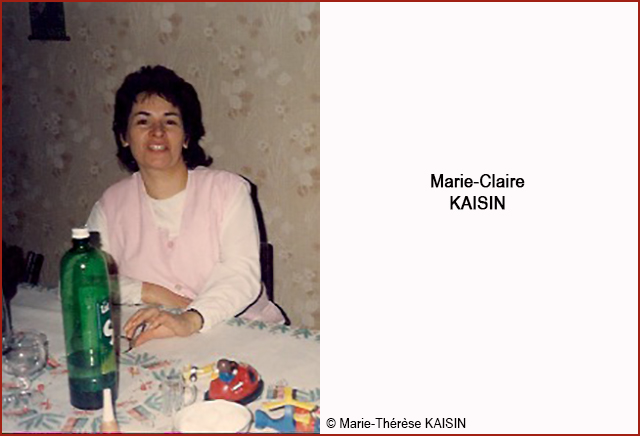 Marie-claire KAISIN 640